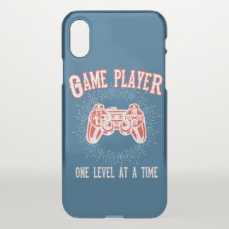 Video Game Player Controller iPhone X Case