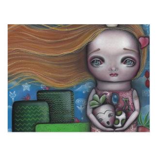 Video Game Princess Postcard