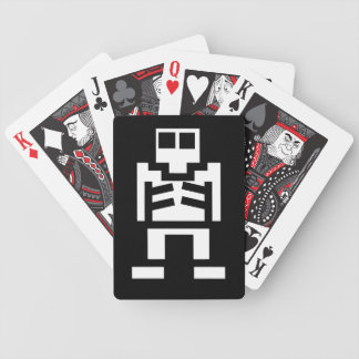 Video Game Skeleton Playing Cards