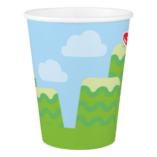 Video Game Themed Paper Cups Paper Cup