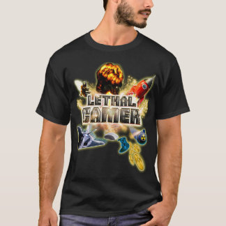 Video Game Themed Shirt Lethal Gamer/Gamer at Work