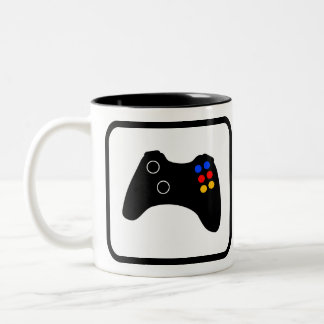 Video Gamer Pro Two-Tone Coffee Mug
