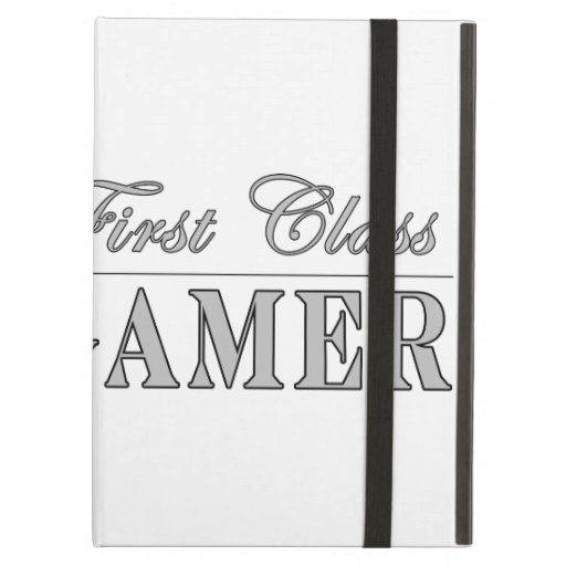 Video Games and Gamers : First Class Gamer iPad Covers
