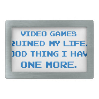 VIDEO GAMES BELT BUCKLES