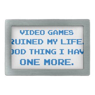 VIDEO GAMES BELT BUCKLES