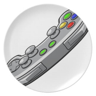 Video Games Console Controller Plate