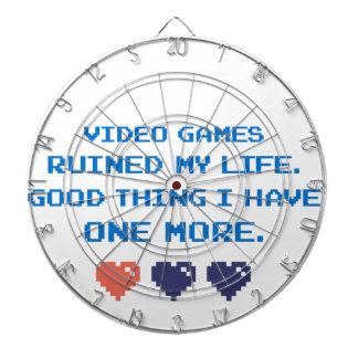 VIDEO GAMES DARTBOARD