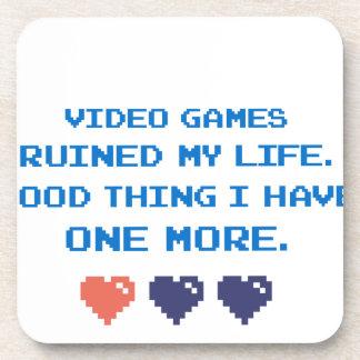 VIDEO GAMES DRINK COASTERS
