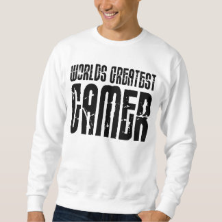 Video Games Gaming & Gamers Worlds Greatest Gamer Sweatshirt
