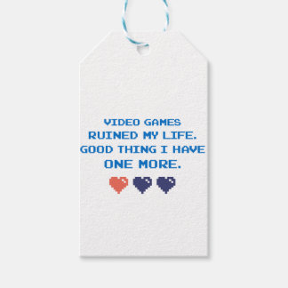 VIDEO GAMES GIFT TAGS
