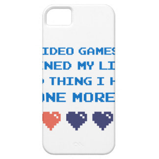VIDEO GAMES iPhone 5 COVER