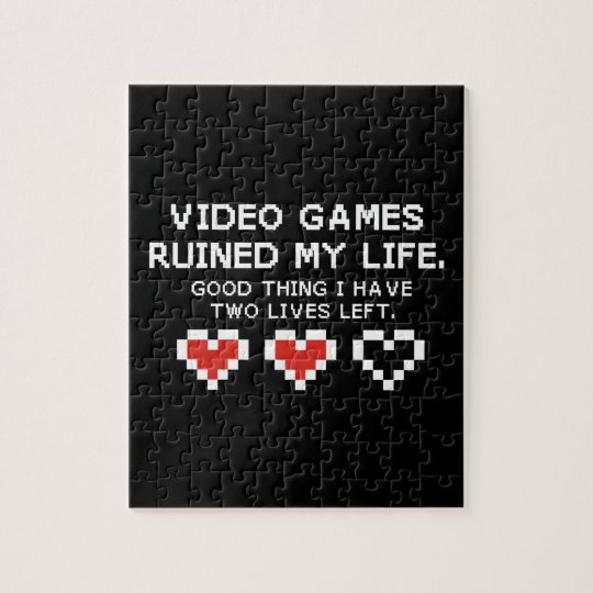 Video games jigsaw puzzle