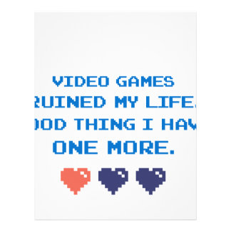 VIDEO GAMES LETTERHEAD
