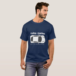 Video Games, Objects In The Rear View Mirror.... T-Shirt