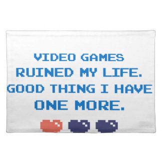 VIDEO GAMES PLACEMAT