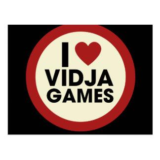 Video Games Postcard