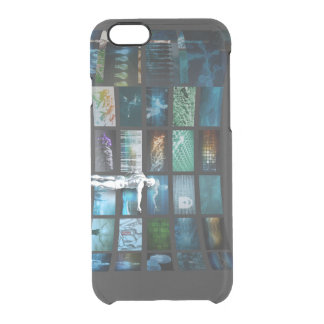 Video Marketing Across Multiple Channels Clear iPhone 6/6S Case