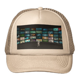 Video Marketing Across Multiple Channels Trucker Hat