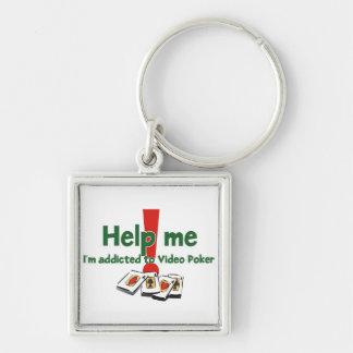 Video Poker Addict's Keychain