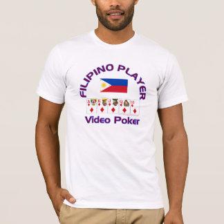 Video Poker : Filipino Player T-Shirt