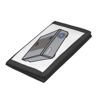 Video projector tri-fold wallet