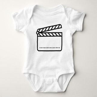 Video Slate Baby Bodysuit