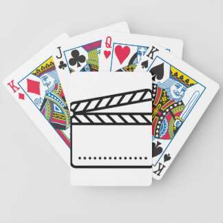 Video Slate Bicycle Playing Cards