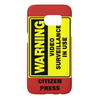Video Surveillance: Citizen Press Phone Case
