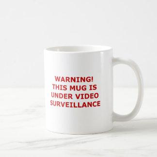 Video Surveillance Mug