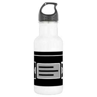 Video Tape 532 Ml Water Bottle