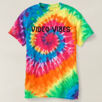 Video Vibes Tie-Dye T-Shirt