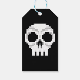 Videogame Death Skull - Pixel Art Gift Tags