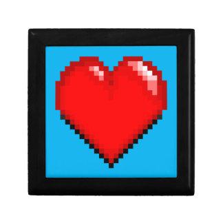 Videogame Life Heart - Pixel Heart Gift Box