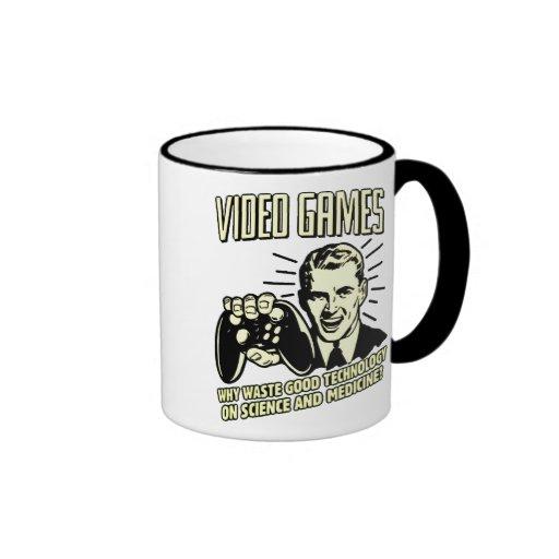 videogames ringer mug