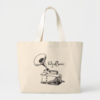 VideoPhonic Totebag Large Tote Bag