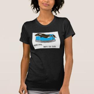 Videz le T-shirt des femmes de réservoirs