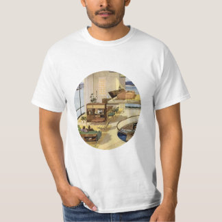 Vie moderne de la moitié du siècle t shirt