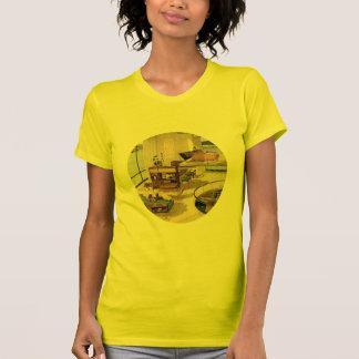 Vie moderne de la moitié du siècle t-shirt