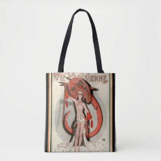 Vie Parisienne  Art Deco Tote