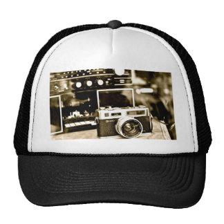 Vieil appareil-photo de photo casquette