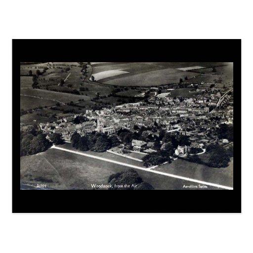 Vieille carte postale - Woodstock, Oxfordshire