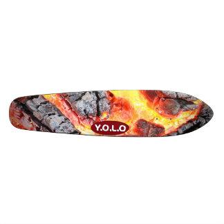 Vieille conception de plate-forme de planche à skateboards