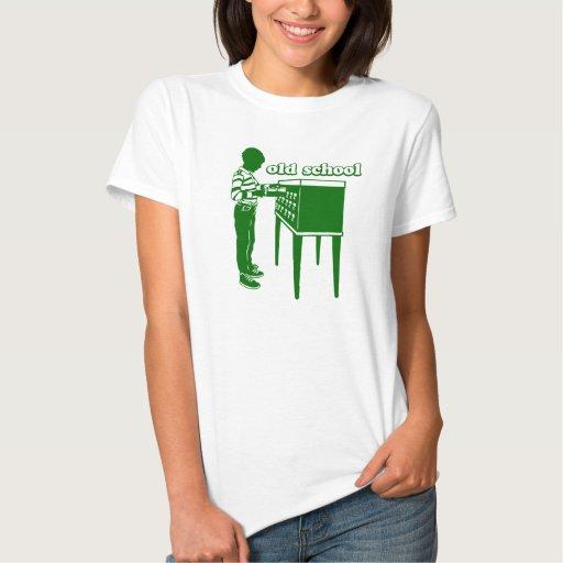 Vieille école t-shirts