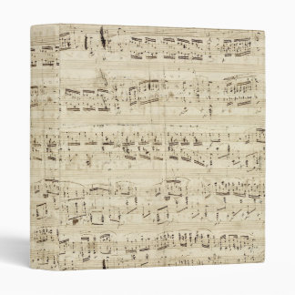 Vieilles notes de musique - feuille de musique Cho Classeur 3 Anneaux