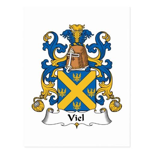 Viel Family Crest Postcards
