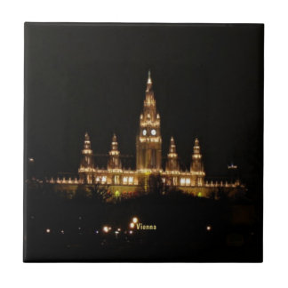 Vienna at Night Ceramic Tile