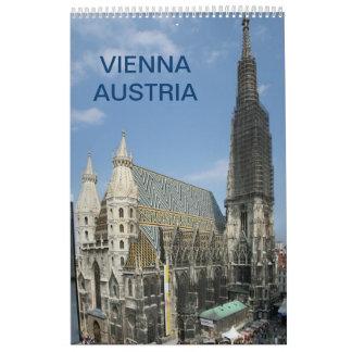 Vienna Austria 2017 Calendar