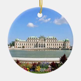 Vienna BelPalace Gardens Ceramic Ornament