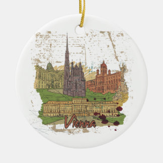 Vienna Ceramic Ornament