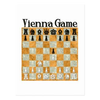 Vienna Game Postcard
